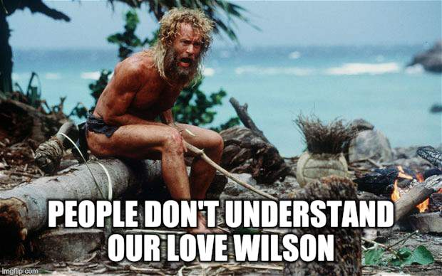 PEOPLE DON'T UNDERSTAND OUR LOVE WILSON | made w/ Imgflip meme maker