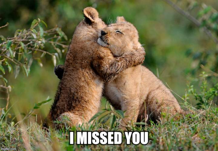I MISSED YOU | made w/ Imgflip meme maker