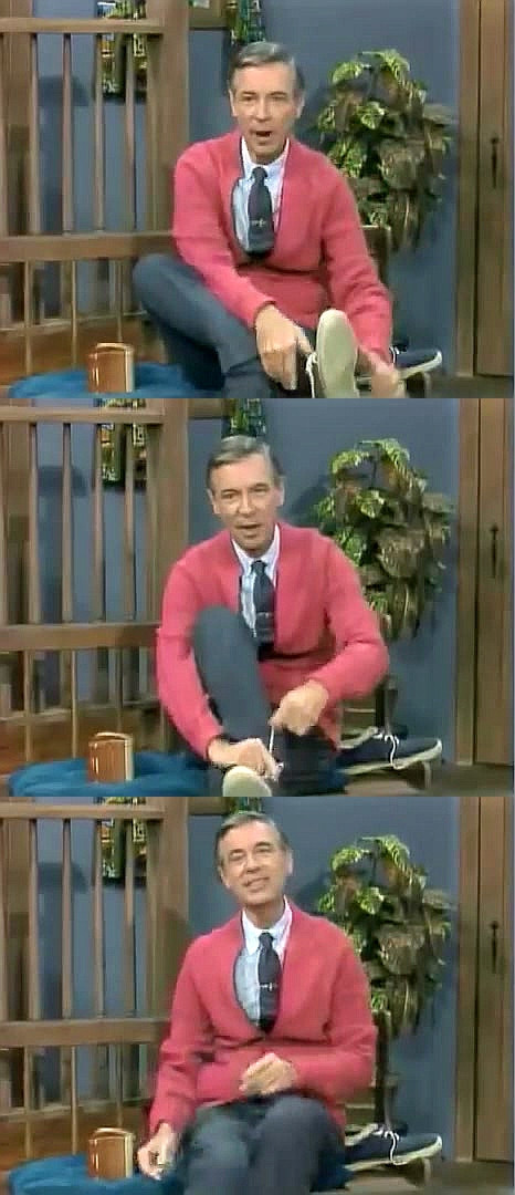 Bad Pun Mr. Rogers Blank Meme Template