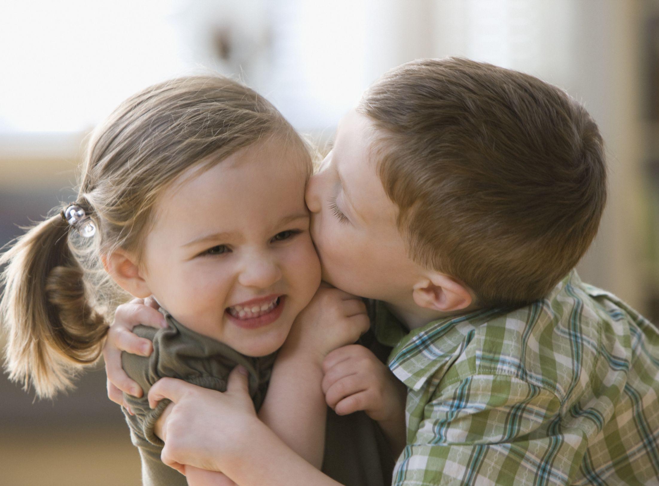 Boy Kissing Girl Blank Template Imgflip