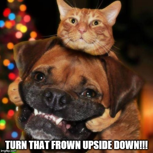 TGIF Reminder turn frown upside down