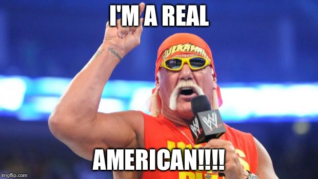Image result for i am a real american