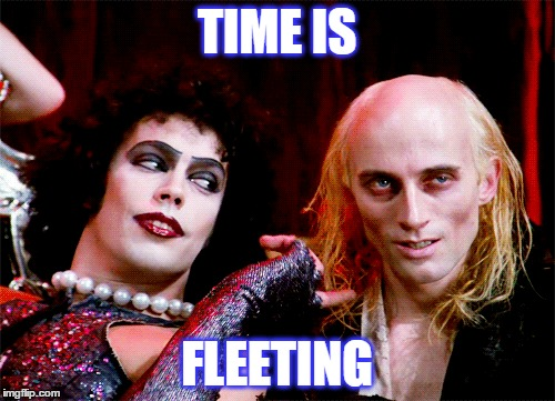 TIME IS FLEETING | made w/ Imgflip meme maker