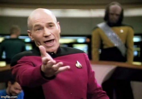 Picard Wtf Meme | BECAUSE I CARE | image tagged in memes,picard wtf | made w/ Imgflip meme maker