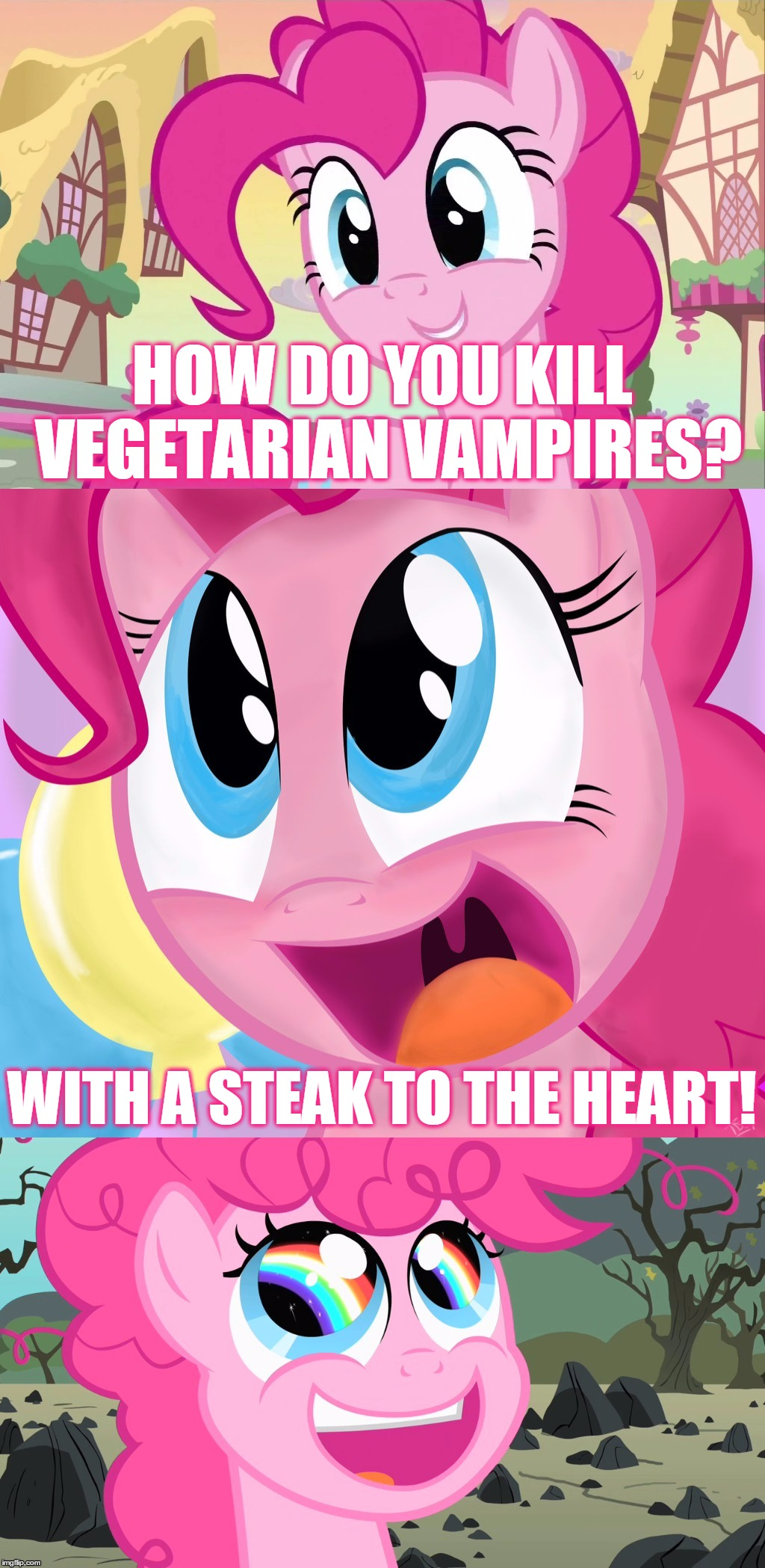 Bad Pun Pinkie Pie - Imgflip