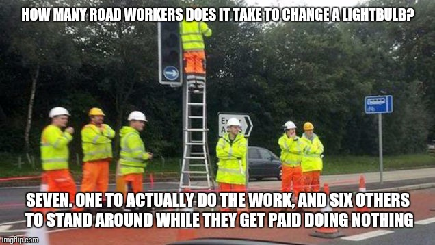 Road Construction Imgflip