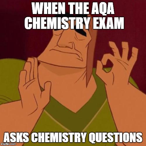Aqa Chemistry  Mark Scheme Student Room