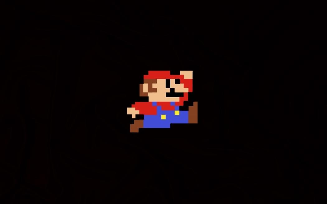 super mario 8-bit Blank Template - Imgflip