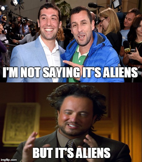 I M Not Saying It Was Aliens By Disfordelirium On: MOTHER OF GOD