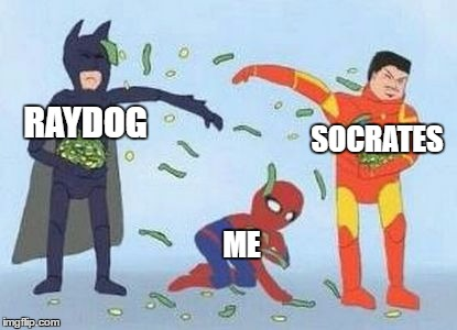 Pathetic Spidey | SOCRATES RAYDOG ME | image tagged in memes,pathetic spidey | made w/ Imgflip meme maker