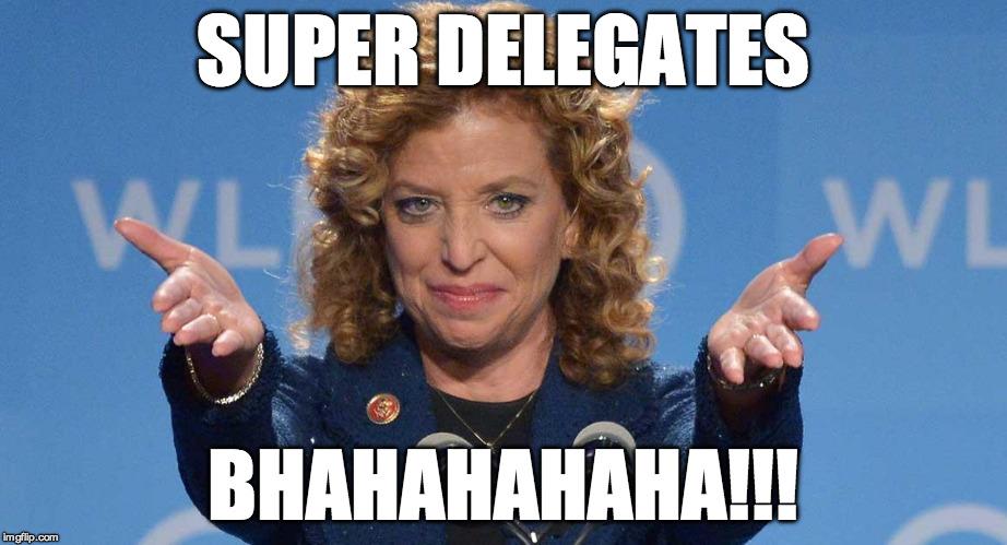 schultz meme wasserman Debbie