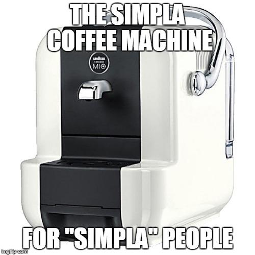 Superb Lavazza A Modo Mio Simpla Coffee Machine