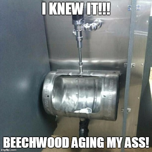 Budweiser: King of Recycling | I KNEW IT!!! BEECHWOOD AGING MY ASS! | image tagged in beer,alcohol,budweiser | made w/ Imgflip meme maker