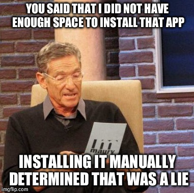 14sbbv google play and its annoying lying imgflip