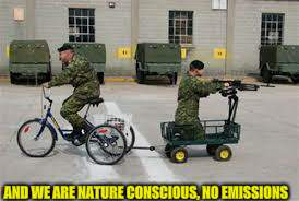 AND WE ARE NATURE CONSCIOUS, NO EMISSIONS | made w/ Imgflip meme maker