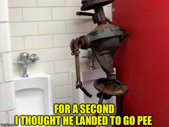 FOR A SECOND I THOUGHT HE LANDED TO GO PEE | made w/ Imgflip meme maker