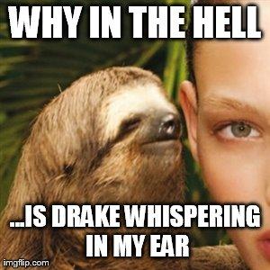 Whisper Sloth Meme - Imgflip