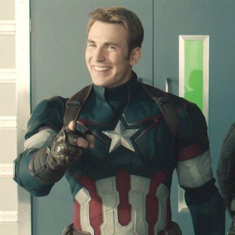 Captain America On Your Left Meme Template