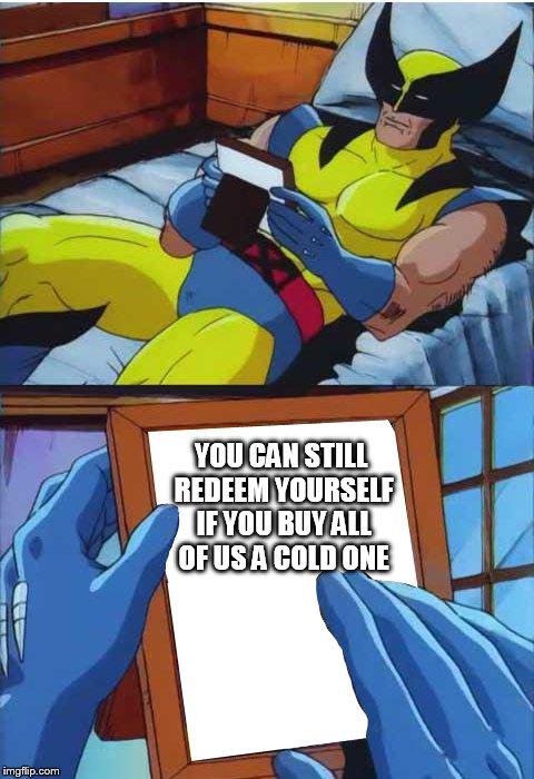 Wolverine Crush Meme Generator Imgflip