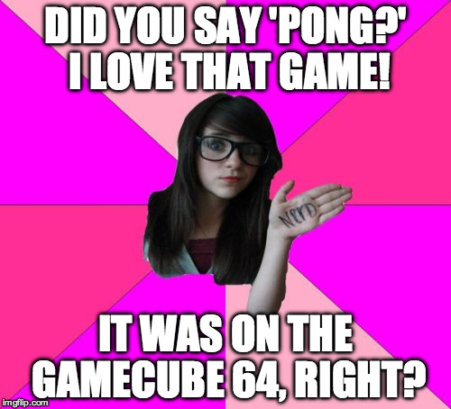 "I hate to be 'that guy' but i was a nerd before it was ""cool"" 