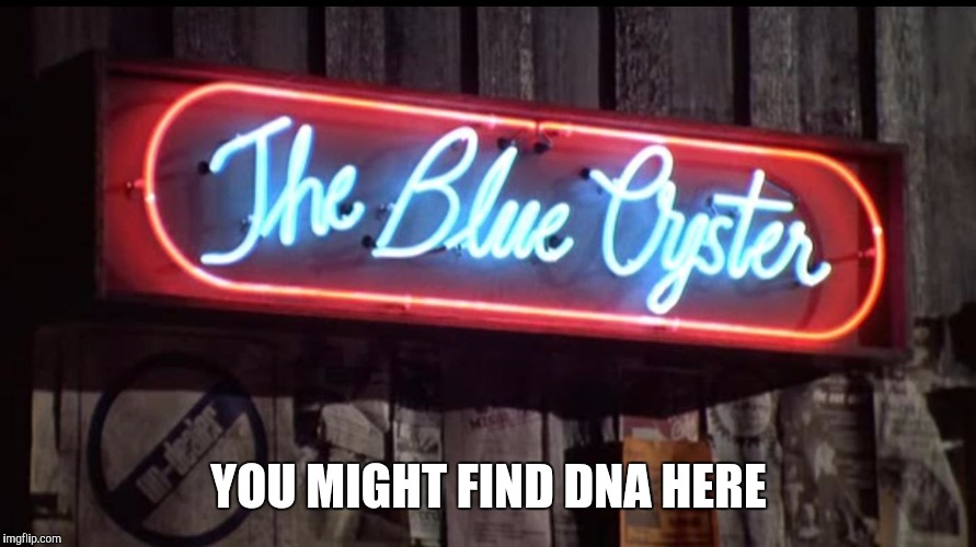 YOU MIGHT FIND DNA HERE | made w/ Imgflip meme maker