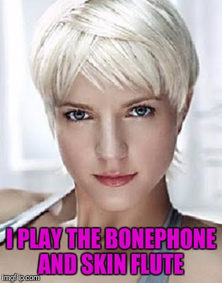 I PLAY THE BONEPHONE AND SKIN FLUTE | made w/ Imgflip meme maker