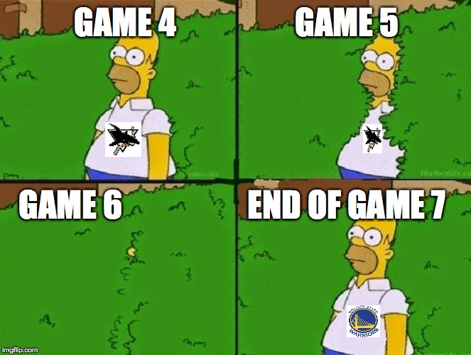 HOMER BUSH |  GAME 4                   GAME 5; GAME 6                    END OF GAME 7 | image tagged in homer bush | made w/ Imgflip meme maker