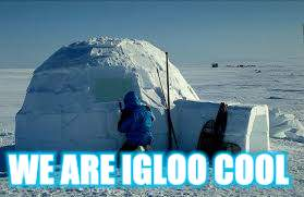 WE ARE IGLOO COOL | made w/ Imgflip meme maker