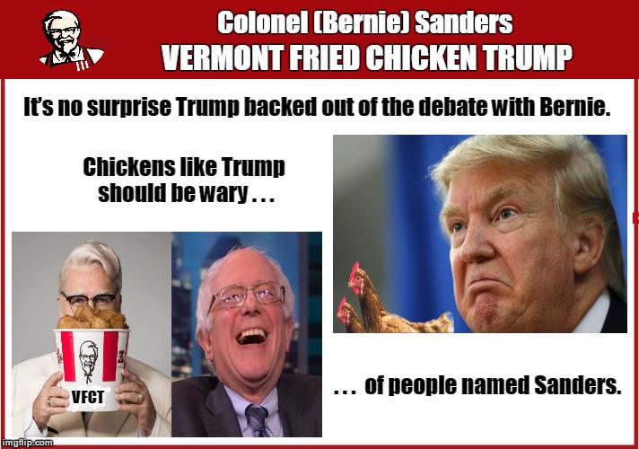 Demotivational Fried Chicken: Will Not Debate Memes & GIFs