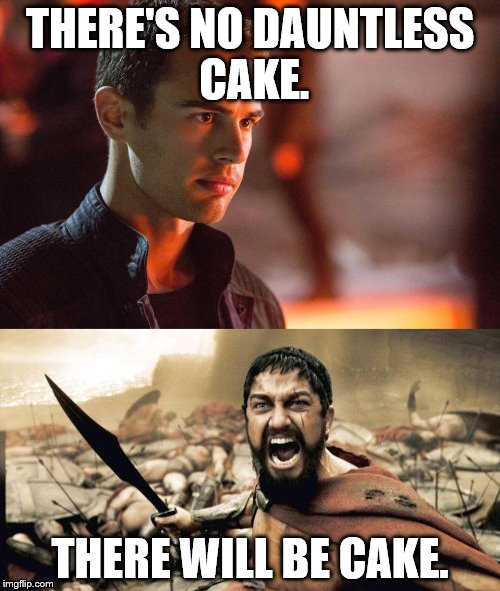 This Is A Divergent Joke Fans Will Get It Imgflip