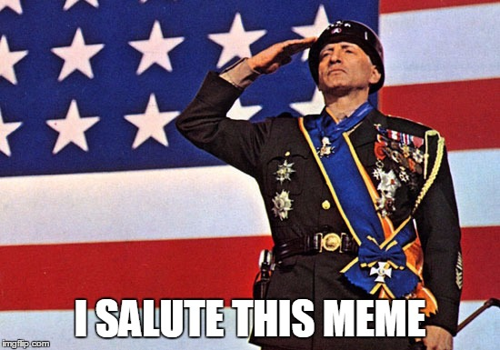 I SALUTE THIS MEME | made w/ Imgflip meme maker