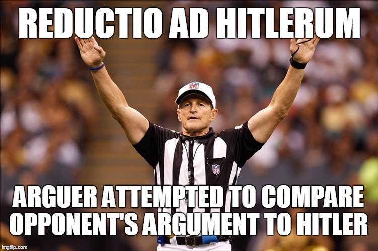 1548ow logical fallacy referee nfl 85 meme generator imgflip,Compare Meme