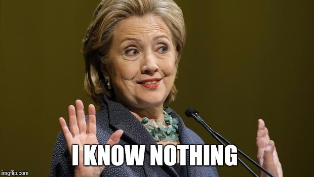 154fxd hillary when asked a question imgflip