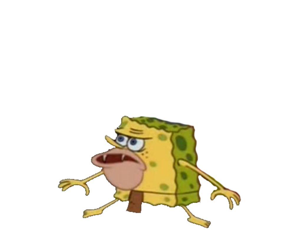Man Cave Meme : Caveman spongebob blank template imgflip