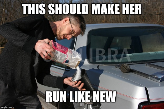 THIS SHOULD MAKE HER RUN LIKE NEW | made w/ Imgflip meme maker