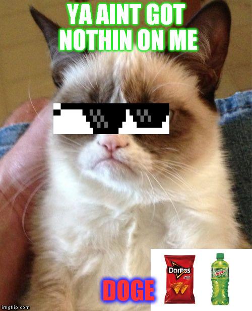 Grumpy Cat Doge Meme