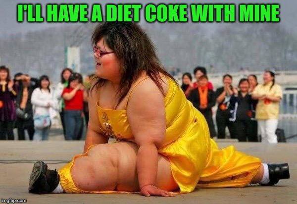 I'LL HAVE A DIET COKE WITH MINE | made w/ Imgflip meme maker