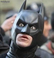 High Quality Batman shocked Blank Meme Template