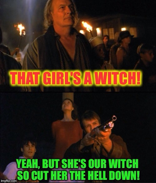 Firefly - I would have said the same thing |  . | image tagged in memes,firefly,witch,funny memes,lol | made w/ Imgflip meme maker