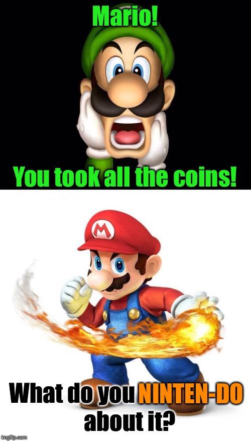 Terrible Pun Mario Imgflip