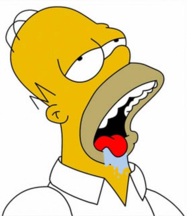 Homer Simpson Drooling Meme Template