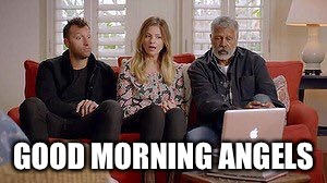 GOOD MORNING ANGELS | image tagged in australians,tv,australia,tv show,charlie's angels | made w/ Imgflip meme maker