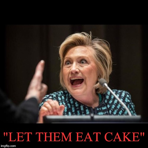 """LET THEM EAT CAKE"" 