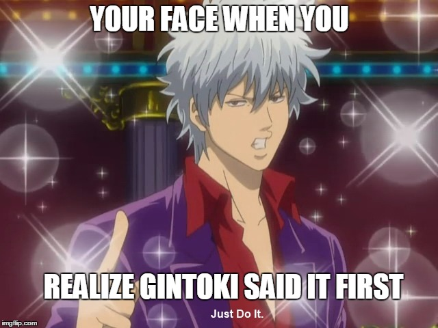 Meme Gintama: Gintama Did It!(Simpsons Ref.)