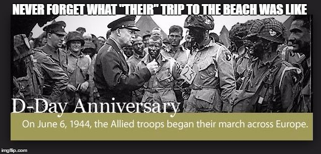 "NEVER FORGET WHAT ""THEIR"" TRIP TO THE BEACH WAS LIKE 