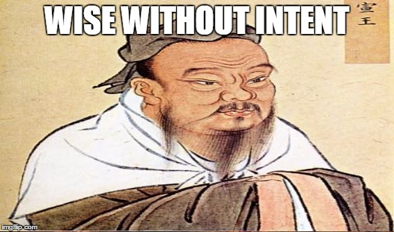 WISE WITHOUT INTENT | made w/ Imgflip meme maker