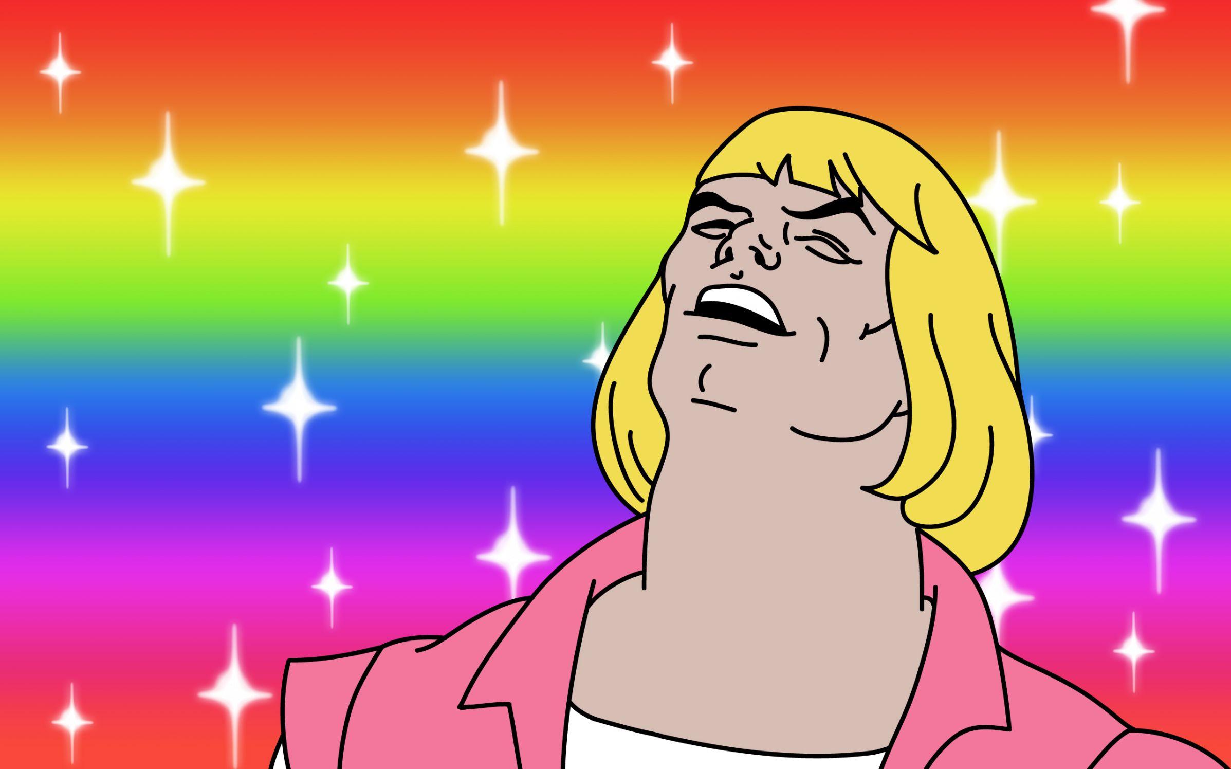 He-Man Blank Template - Imgflip