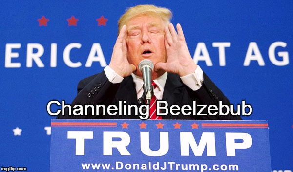Channeling Beelzebub | made w/ Imgflip meme maker