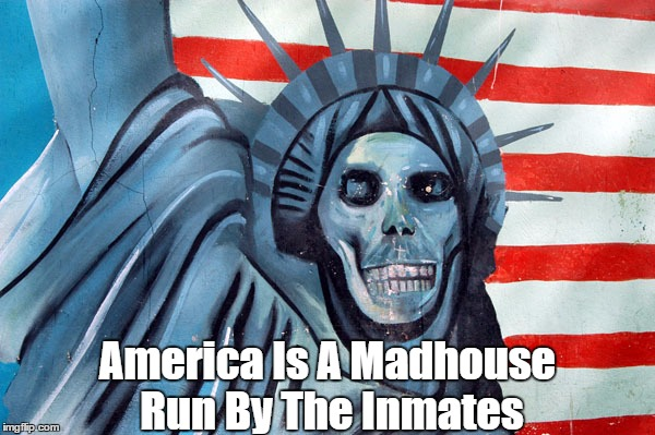 America Is A Madhouse Run By The Inmates | made w/ Imgflip meme maker