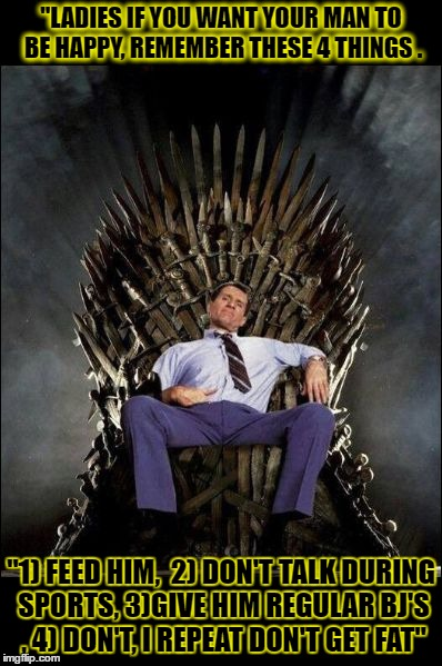 Al Bundy S Throne Imgflip